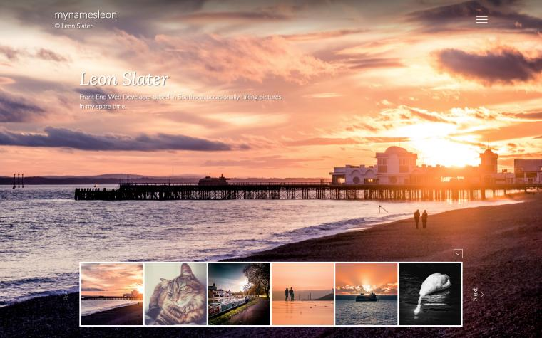 ReactJS Flickr Photography Site - 1
