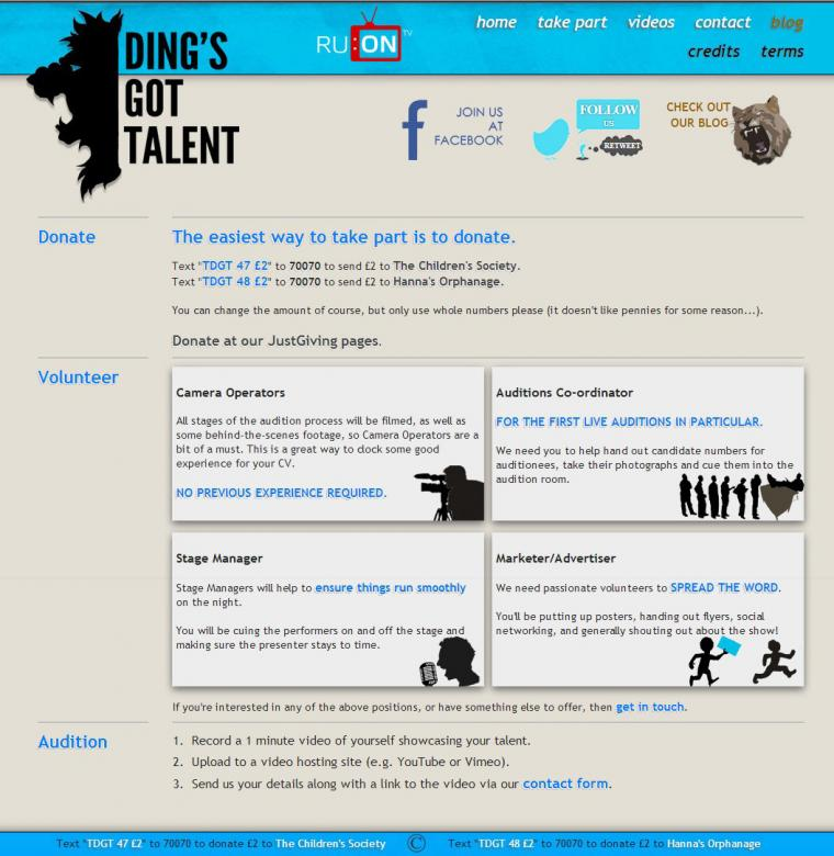 The Ding's Got Talent - Version 1 - 1